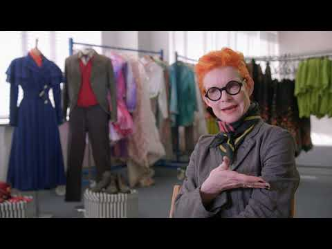 Mary Poppins Returns Interview with Sandy Powell Costume Designer