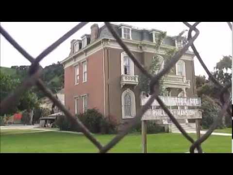 Phillips Mansion Pomona California Spadra Cemetery Ghost Town Haunted History Halloween