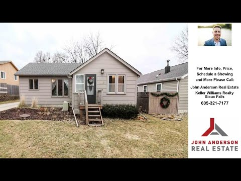 1119 S Cleveland Ave, Sioux Falls, SD Presented by John Anderson Real Estate.