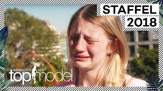 Familienbesuch in der Modelvilla: Trixi ist am Boden zerstört! | GNTM 2018 | ProSieben