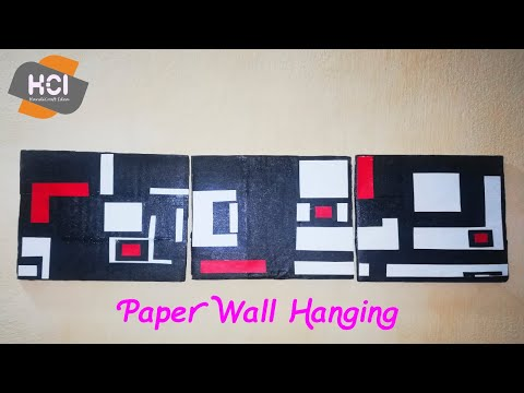 Paper Wall Hanging | Wall Hanging diy | handicraft Room Decor Ideas at home