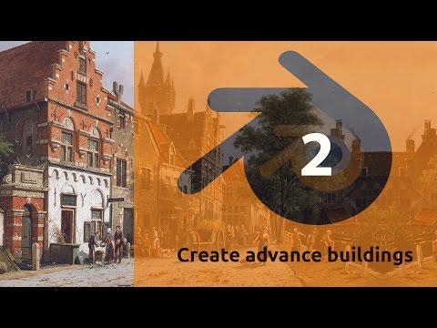 Blender 2.77 - Create buildings ornaments Part 2