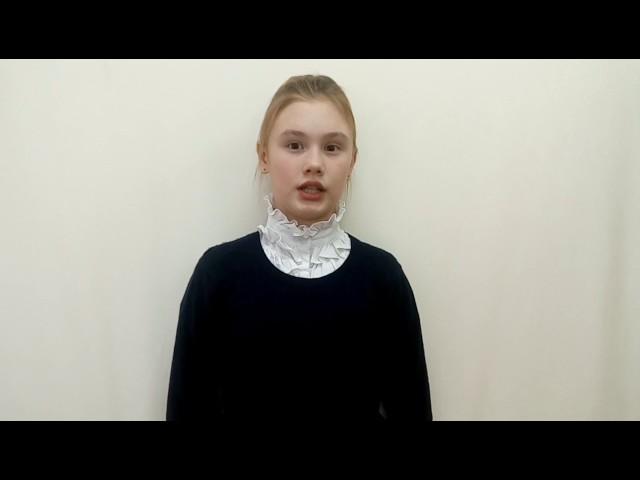 Изображение предпросмотра прочтения – АнастасияСоколова читает произведение «Тучи» М.Ю.Лермонтова