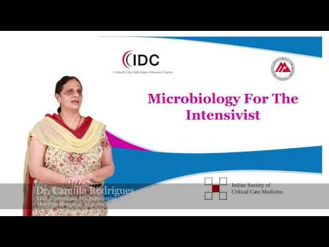 Microbiology for the Intensivist - Dr Camilla Rodrigues - Critical
