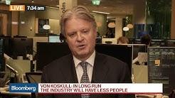 Nordea CEO on Job Cuts, Relocating, MiFID