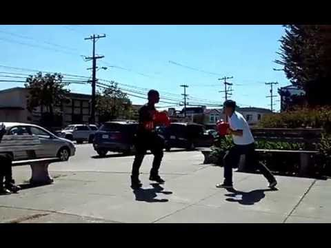 Boxing fight Rodney vs Andy Abraham Lincoln high San Francisco