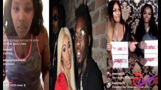 Offset Posts a Warning to Nicki's entourage+ Rah Ali & Cardi's friend Remy Roja speak out!