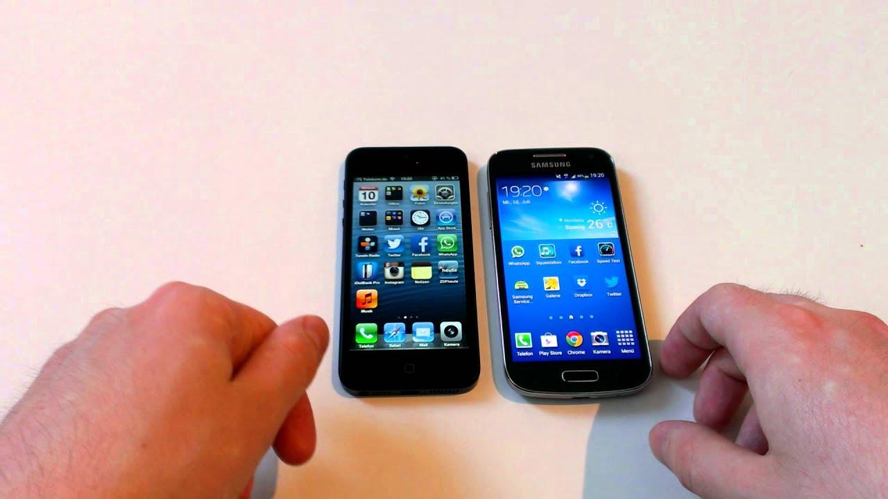 Samsung Galaxy S3 Mini Und S4 Mini Vergleich