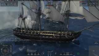 Naval Action Open World: Constitution #3 (Starting with the disadvantage)