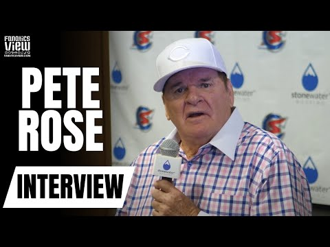 Pete Rose EPIC & HILARIOUS RANT on MLB's Marketing Problem, Juiced Balls & Home Plate Collisions