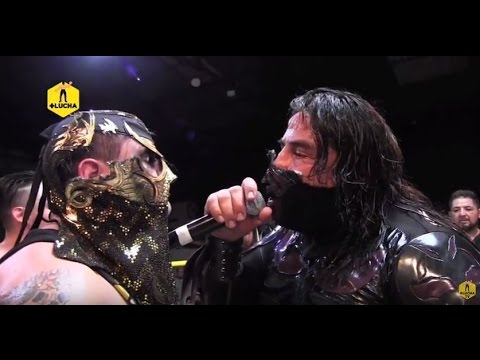 Penta Zero M y Daga vs L.A. Park y Rey Escorpión, AULL (Lucha Completa)
