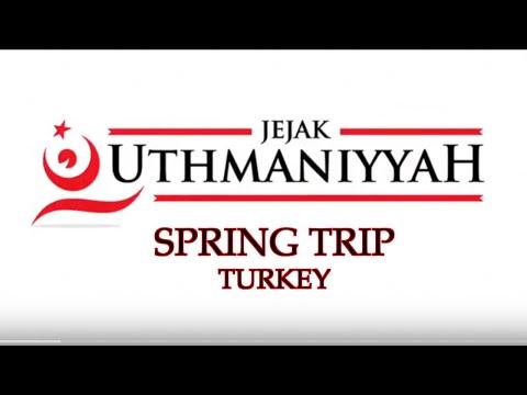 JejakUthmaniyyah Turkey Trip