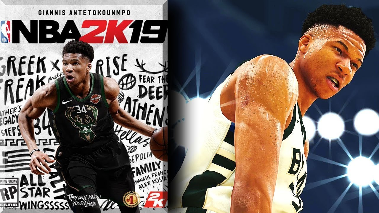 NBA 2K19 News #2 - Greek Freak ARCHETYPE & Cover Athlete