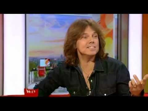 Joey Tempest Europe Interview BBC Breakfast 2012