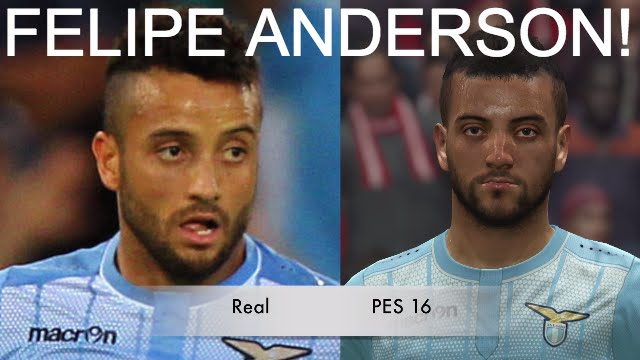 FELIPE ANDERSON IN FIFA 16 AND PES 2016! (Face Review) #72 ... Felipe Fifa 18