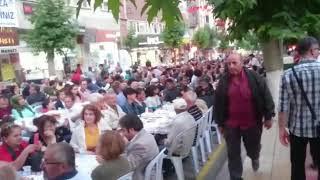 MERZİFON BELEDİYESİ'NDEN BÜYÜK İFTAR SOFRASI - Pusula Gazetesi