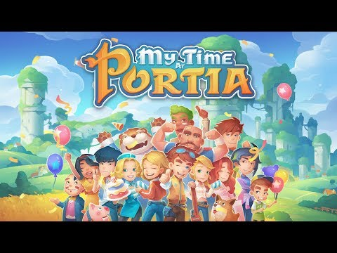 My Time At Portia - PC Launch Trailer (Steam & Epic Games Store)