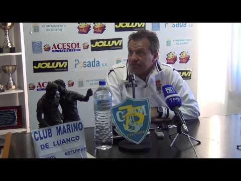 Rueda de prensa de Carlos Granero Marino 1 Real Oviedo 2