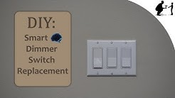 How-to: Replace 3-Way Switches With Smart Dimmable Switches