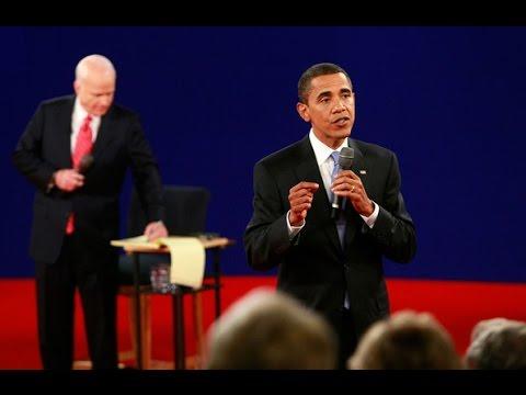 Barack Obama and John McCain 2nd Presidential Debate 2008