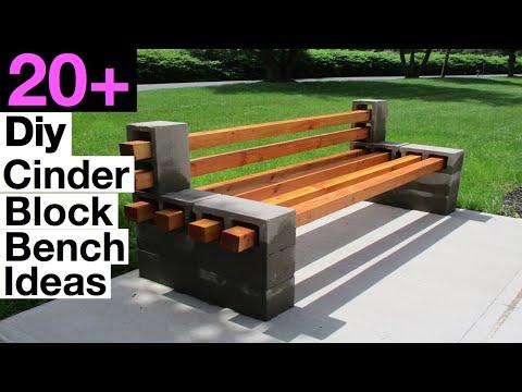 best-diy-cinder-block-bench-ideas