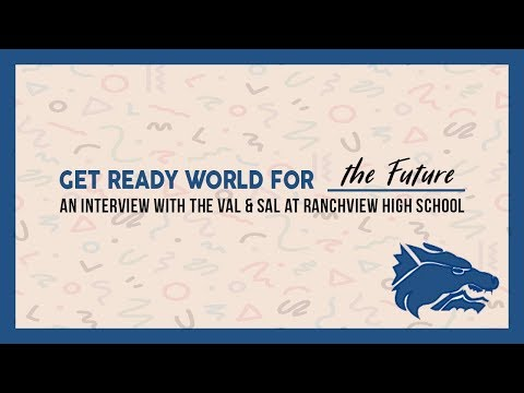 Interview with Valedictorian & Salutatorian | Ranchview High School