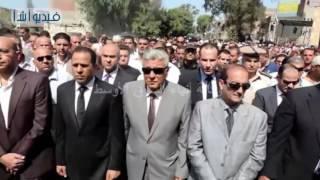 جنازة عسكرية لشهيد الشرطة بمشاركة مساعد وزير الداخلية ومدير أمن البحيرة