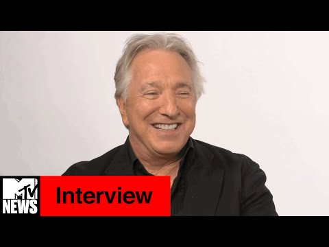 Alan Rickman Interview | MTV News