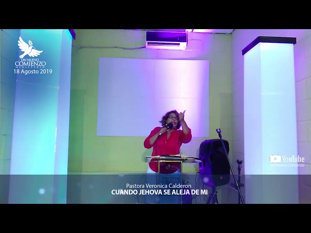 Predica # 111 - CUANDO JEHOVA SE ALEJA DE MI - Pastora Veronica Calderon