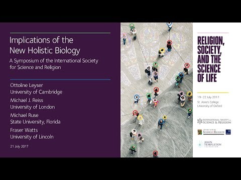 SYMPOSIUM: the International Society for Science and Religion - Part 1