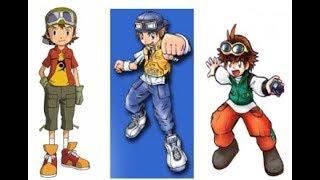 Digievoluciones De Los Digimon De Los Lideres De Manga, Anime y Videojuegos De Digimon Parte IV