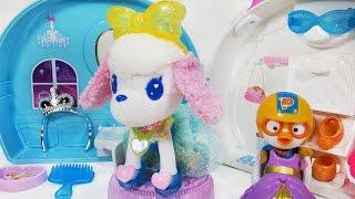 미미 옷입는 강아지 신데렐라 슈슈 뽀로로 장난감