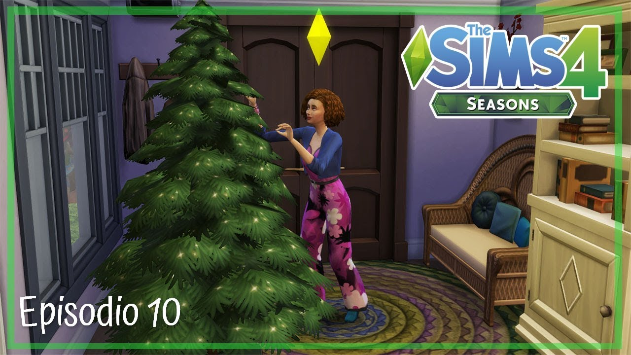 Addobbi Natalizi The Sims 3.The Sims 4 Stagioni La Prima Neve Ep 10 Gameplay Ita Youtube