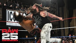 """Woken"" Matt Hardy vs. Bray Wyatt: Raw 25, Jan. 22, 2018"