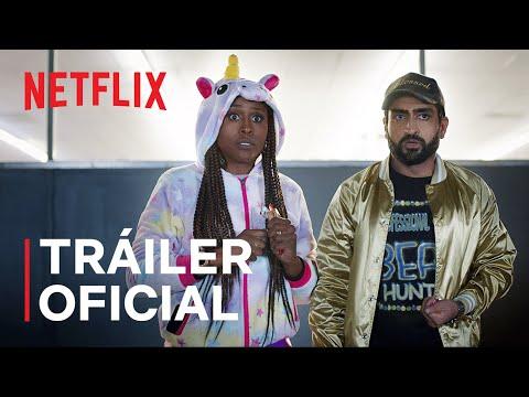 Dos tórtolos   Issa Rae y Kumail Nanjiani   Tráiler oficial   Netflix