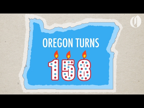 Oregon turns 158: How its borders have changed