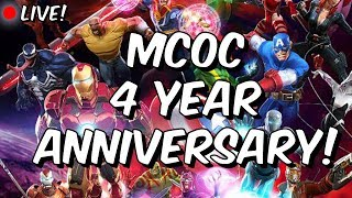 Marvel Champions 4 Year Anniversary LIVE!!! - Marvel Contest Of Champions
