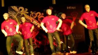 Group Dance by Sahil Gupta with 360 Degree Group, on MFG Day (in Infosys, Pune) Part 1