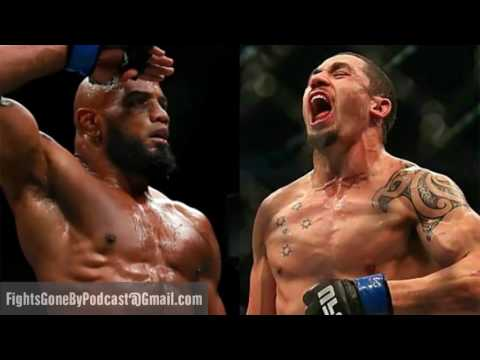 Fights Gone By #44: UFC 213 - Don't Taint Me, Bro