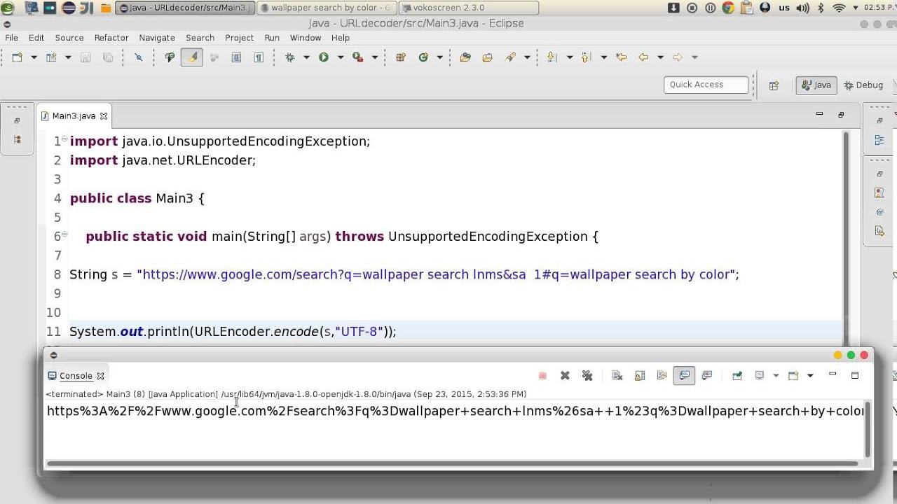 كورسات - 14 JAVA Networking URL decoder encoder