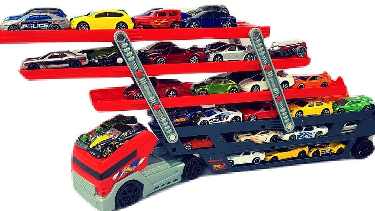 Hot Wheels Toy Car Holder Case : Turn a shoe rack into a toy car wall garage