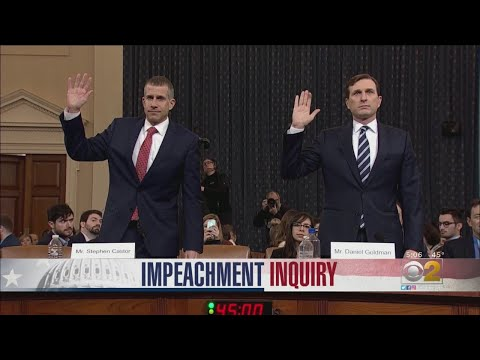 Chris Michaels - Both Sides Make Case In Trump Impeachment Inquiry