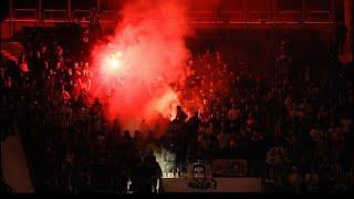 GFB Almanya'da Frankfurt Fenerbahçe Tribün Özeti