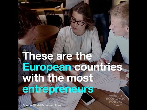 These are the European countries with the most entrepreneurs