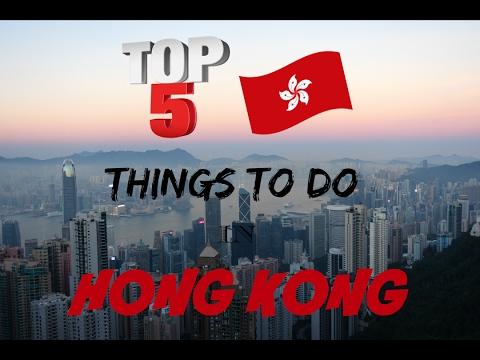 Top 5 Things To Do in Hong Kong