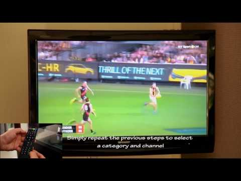 Villa St Helena Television and IPTV Media Box Instruction Guide