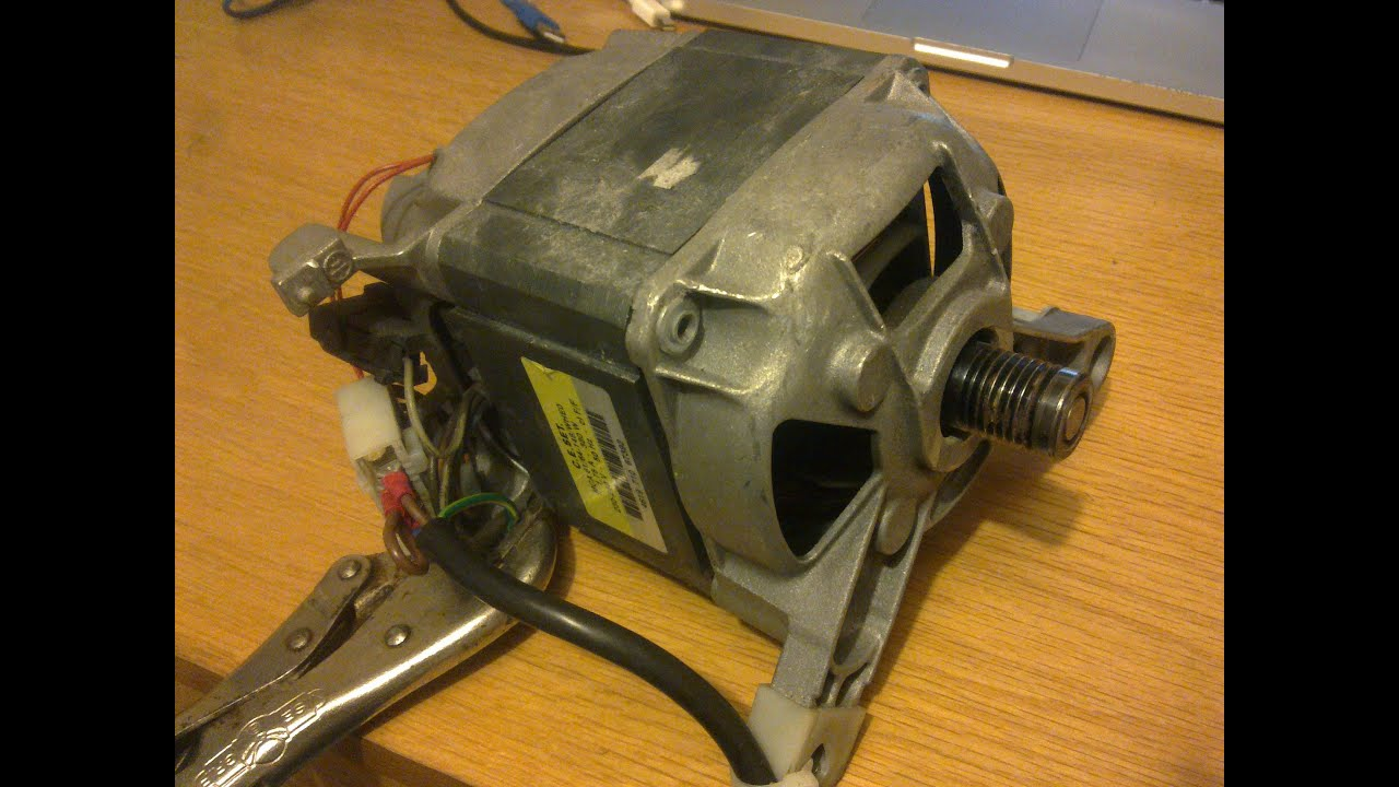 How to wire AC Universal Appliance motors (WasherDrier