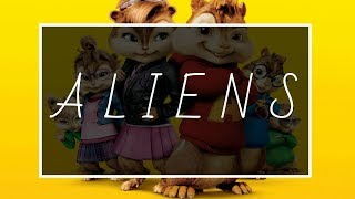 Coldplay A L I E N S COVER By Chipmunks