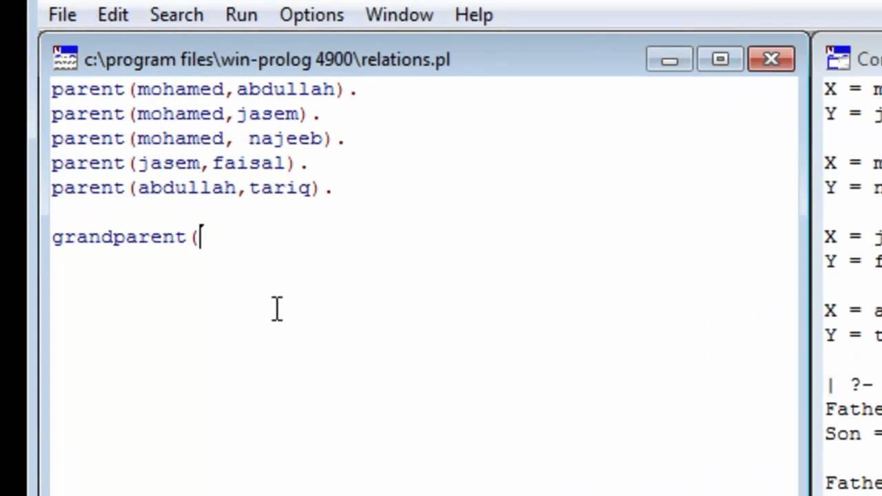 logiciel swi prolog