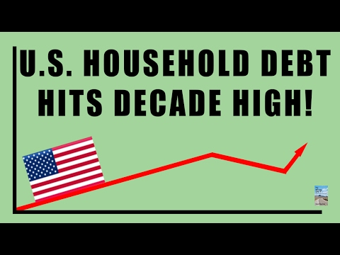 Debt Hits DECADE HIGH! Is the Economic System at the Tipping Point?